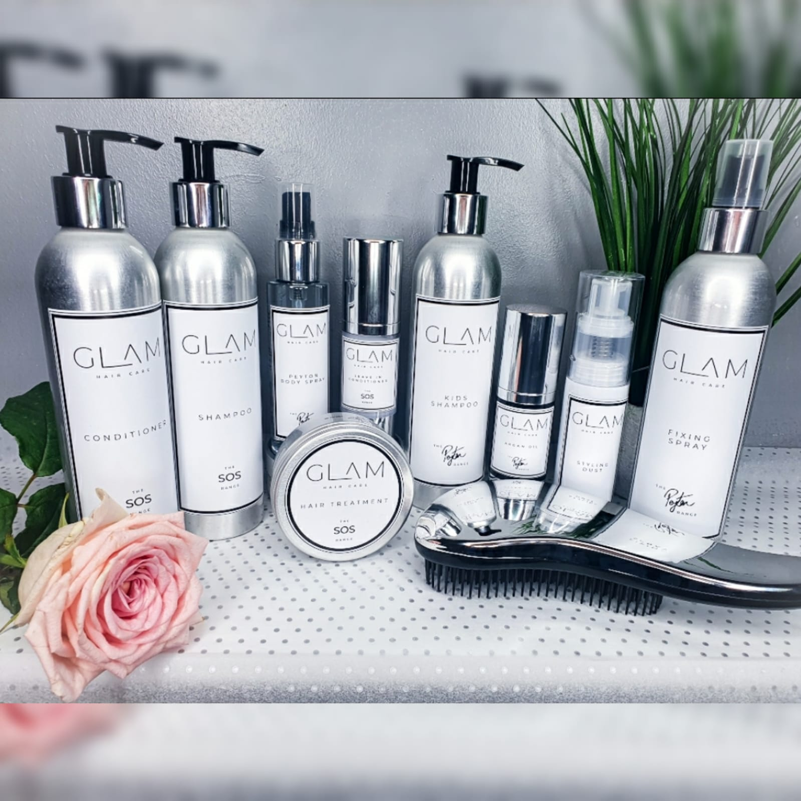 Glam's Premium Haircare and Beauty Range